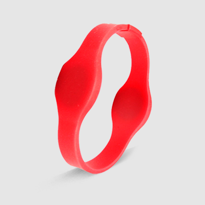 Dual-Frequency Silicon RFID Wristband