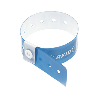 RFID MIFARE 1K Disposable PVC Wristband