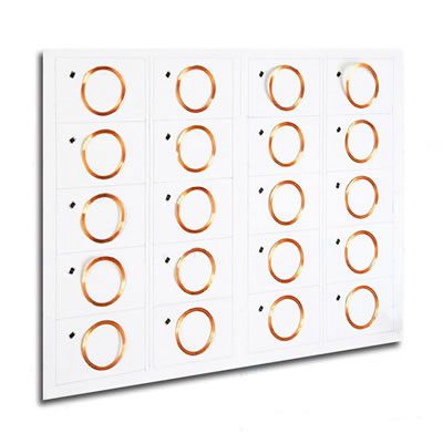 125Khz LF Prelaminated RFID Inlay