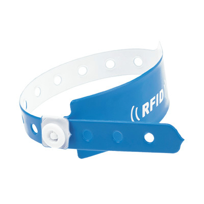 13.56MHz Disposable PVC Wristband